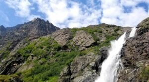 Hike To The Foot Of The Stunning Eska Falls In Alaska This Summer