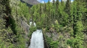 Hike Into Alaska's Chugach Forest And See Resurrection Falls Up Close
