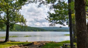 Don't Forget To Visit Cove Lake After You've Explored Mount Magazine In Arkansas