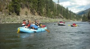 Spend A Relaxing Half-Day Floating Down The Salmon River In Idaho For A Family-Friendly Adventure