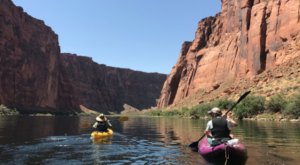 Kayak Along The Colorado River Through This Incredibly Scenic Area Of Arizona