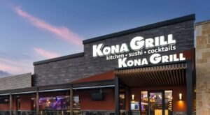 Kona Grill Is The One-Of-A-Kind Ocean Themed Restaurant In Arizona That's Insanely Fun
