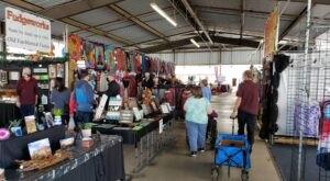 Shop 'Til You Drop At Mesa Market Place Swap Meet, One Of The Largest Flea Markets In Arizona