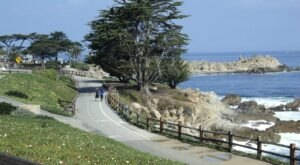 Walk Or Ride Alongside The Ocean On The 18-Mile Monterey Bay Coastal Trail In Northern California