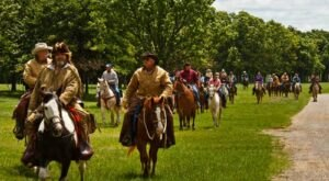 Take A 15-Mile Horseback Trail Ride At Woolaroc Museum In Oklahoma