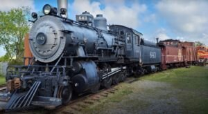Take A 40-Minute Train Ride In A Historic Passenger Coach At Oklahoma Railway Museum