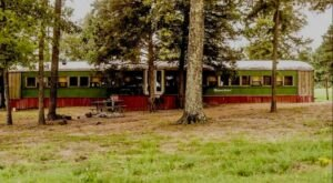 There's Nothing Like An Overnight Stay In The Victorian Train At Rebel Hill Guest Ranch In Oklahoma