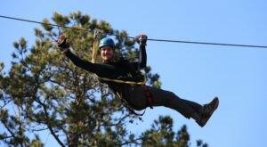 Take A Ride On The Longest Zipline In South Carolina Along The Chattooga Ridge