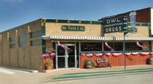 A 100-Year-Old Soda Fountain, Owl Drug Store Is A Small-Town Texas Relic