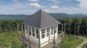 You'll Have A Front Row View Of The West Virginia Pocahontas County Forest and Mountains In These Cozy Cabins