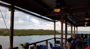 Pull Up In Your Boat And Enjoy A Waterfront Meal At Paradise Key Dockside Bar & Grill In Texas