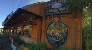 Charles Street Dinner House Is An Old West-Themed Steakhouse In Northern California That Always Satisfies