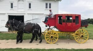 Take A Carriage Ride Through Old Abilene Town For A Truly Unique Kansas Experience