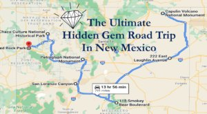 The Ultimate New Mexico Hidden Gem Road Trip Will Take You To 7 Incredible Little-Known Spots In The State