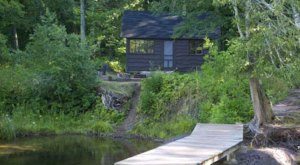 "You'll Have A Front Row View Of The Michigan Porcupine Mountains In The Park's ""Rustic Cabins"""