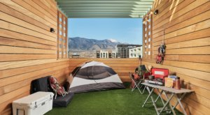 The New Kinship Landing In Colorado Offers A One-Of-A-Kind Camping Room