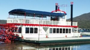 Spend A Perfect Day On This Old-Fashioned Paddleboat Cruise In Southern California