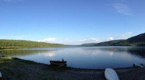 Nahmakanta Lake Is A Beautiful Lake Nestled In The Maine Mountains