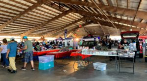 Shop 'Til You Drop At Traders Village, One Of The Largest Flea Markets In Texas