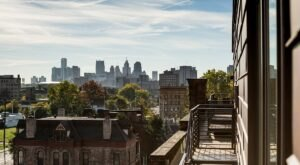 You'll Have A Front Row View Of Downtown Detroit In These Cozy Rooftop Cabins
