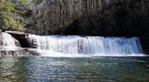 Visit Hooker Falls In North Carolina, A Hidden Gem Beach That Has Its Very Own Waterfall