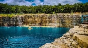 The Missouri Beach That's Unlike Any Other In The World