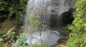 Hike Less Than One Mile To This Spectacular Waterfall In Pennsylvania