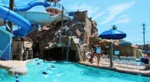 One Of Maryland's Coolest Aqua Parks, Chesapeake Beach Water Park Will Make You Feel Like A Kid Again