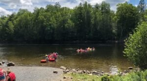 Bullfrog Adventures Tubing Trips In Maine Are Officially Open And Here's What You Need To Know