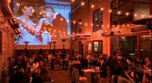Grab Dinner And A Movie At Foreign Cinema, A Northern California Restaurant That Screens Films While You Dine