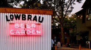 It's Always A Good Time At LowBrau, A German Beer Hall And Garden In Northern California