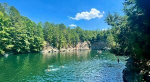 The Quarry At Carrigan Farms In North Carolina Is Spring-Fed Fun For The Whole Family