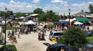 Shop Till You Drop At Kane County Flea Market, One Of The Largest Flea Markets In Illinois