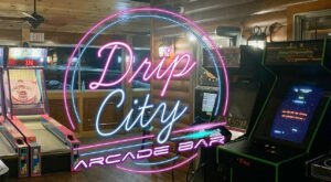Drip City Is A Bar Arcade In Maine And It's An Adult Playground Come To Life