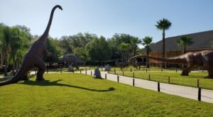 There's A Dinosaur Themed Playground In Florida Called Dinosaur World