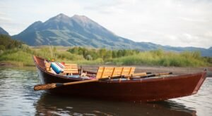 Take A Ride On This One-Of-A-Kind Wood Boat Tour In Montana