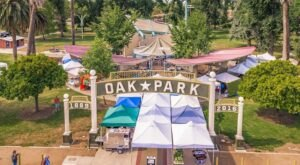 The Oak Park Farmers Market In Northern California Boasts Local Produce And Family Activities Every Week