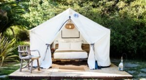 Boon Hotel + Spa Is A Glamping Destination In Northern California With A Hot Tub And Pool