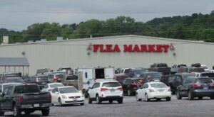 Shop Till You Drop At The Great Smokies Flea Market, One Of The Largest Flea Markets In Tennessee