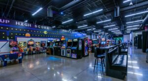 Travel Back In Time When You Visit Riverside Game Lab, An Arcade Bar In Southern California