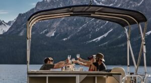 Go On A Sunset Appetizer Cruise Across Redfish Lake In Idaho For A Memorable Evening