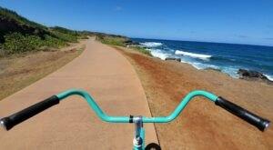Walk Or Ride Alongside The Ocean On The 7.3-Mile Ke Ala Hele Makalae In Hawaii