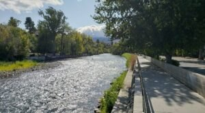 Walk Or Ride Alongside The River On The 12-Mile Truckee River Bike Path In Nevada