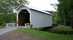 Hop In Your Car And Take Greene County Covered Bridge Driving Tour For An Incredible 77-Mile Scenic Drive In Pennsylvania
