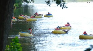 The One State Park In Virginia That's Perfect For River Tubing Enthusiasts
