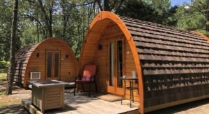 Book A Stay In One Of These Glamping Pods In Arkansas For A Unique Getaway