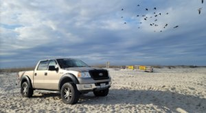 You Can Drive And Park Right On The Beach At Freeman Park In North Carolina