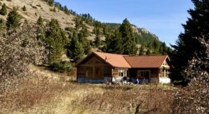 You'll Have A Front Row View Of Montana's Crazy Mountains In This Cozy Cabin