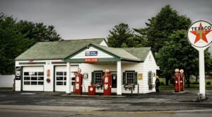 Ambler's Texaco Gas Station Is A Must-Visit Historic Location Along Illinois' Route 66