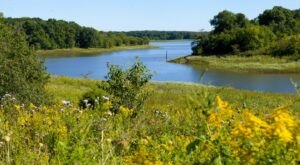 This Pleasant Hike Takes You To The Most Crystal Blue Lake In Iowa
